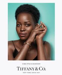 Tiffany And Co Home Decor by Lupita Nyong U0027o U0027s Tiffany U0026 Co Campaign Instyle Com