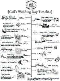 wedding ceremony timeline wedding day timeline sle unique wedding ceremony timeline