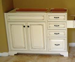 Bathroom Vanities That Look Like Furniture Add A Furniture Base To Stock Cabinets To Make Them Look Like Real