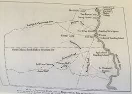 Standing Rock Reservation Map Hunkpapa Ordinary Philosophy