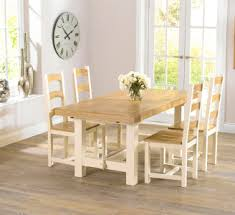 Cream Painted Dining Sets Dining Table Design Ideas  Electoralcom - Cream dining room sets