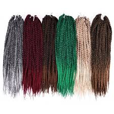 crochet hair extensions ombre black gray box braids crochet hair extensions