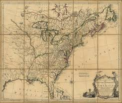 Accurate Map Of The World 1765 To 1769 Pennsylvania Maps