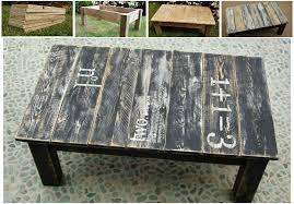 Rustic Coffee Table Diy 20 Easy U0026 Free Plans To Build A Diy Coffee Table Diy U0026 Crafts