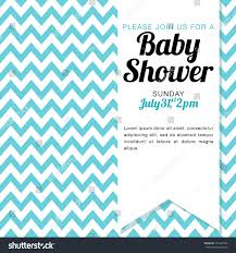 baby shower invitation baby boy blue stock vector 151652795