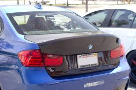 jm lexus collision center svn csl carbon fiber trunk lid for bmw f30 u0026 f80 m3 sedan frp u0026 cf