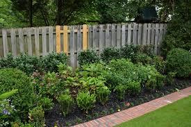 rustic garden border fence u2014 jbeedesigns outdoor landscaping