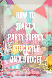 party supply looking for best quality and competitively priced unique party