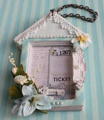 altered shabby chic cottage book the art of scrapbooking by