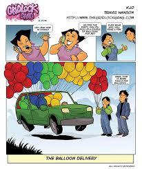 Balloon Delivery The Balloon Delivery The Gridlock Gang