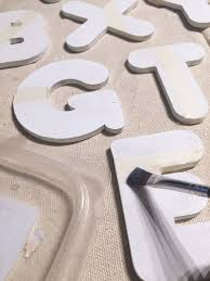 seasonal style color dipped letter ornaments more diy