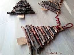 How To Make Christmas Ornaments Out Of Beads - the 25 best twig christmas tree ideas on pinterest stick