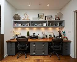 home office furniture contemporary desks 30 idées pour aménager vos postes de travail double desk office
