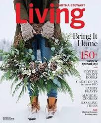 Amazoncom  Martha Stewart Living Magazine Christmas December 2017