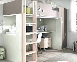 lit en hauteur avec canapé lit mezzanine avec canape convertible fixe mezzanine avec canape