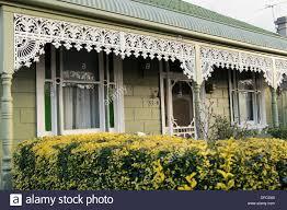 victorian style house victorian style house yarraville melbourne australia stock