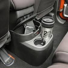 Amazon Com Rugged Ridge 13551 51 Black Rear Seat Organizer