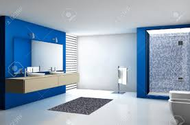 Modern Contemporary Bathrooms by Contemporary Bathroom With Modern Design And Furniture Colored