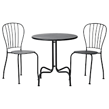 Cast Iron Patio Table And Chairs by Beautiful Outdoor Bistro Set Ikea Homesfeed