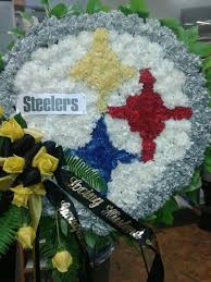 flower delivery pittsburgh for a pittsburgh steelers fan custom flower arrangements