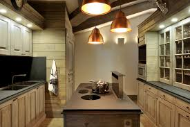 Copper Kitchen Lighting Rustic Kitchen Lighting With Chandeliers Accent The New Way Home