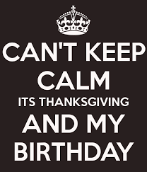 5 struggles of a thanksgiving birthday