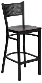 29 Inch Bar Stools With Back Chic Black Wooden Bar Stools With Back Alexis Cappuccino Padded