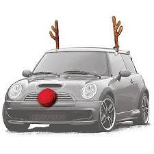 car reindeer antlers reindeer christmas car decoration set new easy