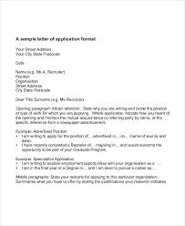 Application Letter For Applying As 32 Application Letter Sles Free Premium Templates