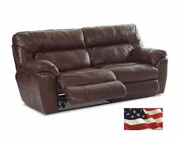 Two Seater Electric Recliner Sofa Reclining Leather Sofas Michigan S Best Be Seated Leather