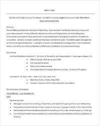 business resume sample mba resume mba resume template 11