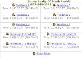 The Parc Condo Floor Plan The Parc Aventura Condo 19400 Turnberry Way Florida 33180
