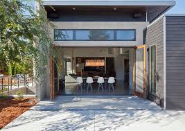Contemporary Patio Doors Folding Patio Doors Exterior Modern With Cable Railing Ceiling Fan