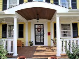 Front Porch Awesome Home Exterior Design With Front Porch Using