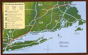 Freedom Trail Map Boston by Six Indian Trails That Turned Into Scenic Highways And Byways