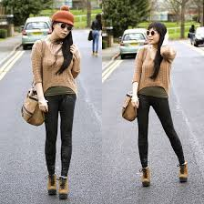 what to wear with light brown boots eileen qin asos light brown sweater asos black legging asos