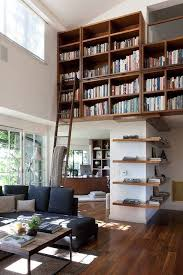 home library furniture decoration house with beautiful living room