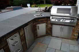 outdoor kitchen countertop ideas bbq countertop ideas 4 image of gorgeous outdoor kitchen