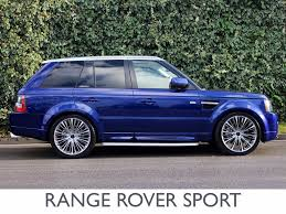 silver range rover used land rover range rover sport suv 3 6 td v8 autobiography