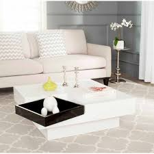 safavieh wesley coffee table white and black walmart com