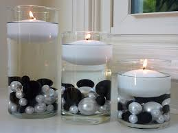 floating candle centerpiece ideas 95 black white jumbo assorted sizes with gems
