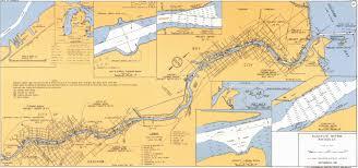 Michigan River Map by Detroit District U003e Missions U003e Operations U003e Saginaw River Mi