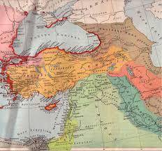 Asia Minor Map by Armenia