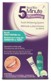 natural white 5 minute whitening tooth whitening system walmart
