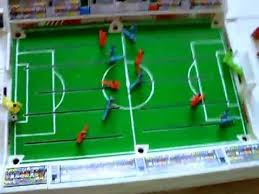 electronic table football game tomy super cup football game 1980s 90s youtube