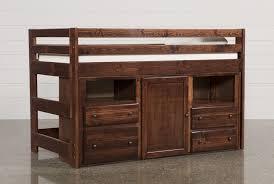 Storage Bed Sedona Junior Loft Storage Bed Living Spaces