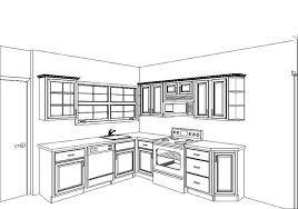 Kitchen Design Sketch Contemporary Kitchen Designs Plans Design Floor Extraordinary