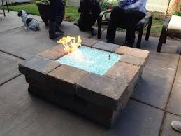 Propane Fire Pits With Glass Rocks by Fire Pit Glass Rocks Home Depot Design And Ideas
