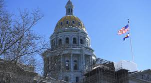 Colorado Flags At Half Mast Colorado Lawmakers Hammer Out The State Budget Bill And No One Is