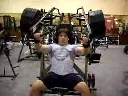 Seated Bench Press Hammer Strength Youtube